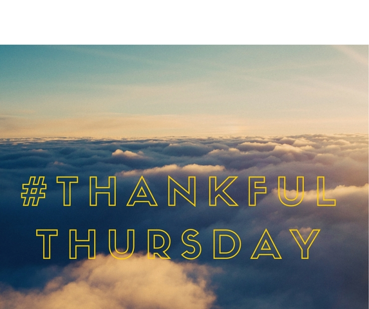 #Thankfulthursday